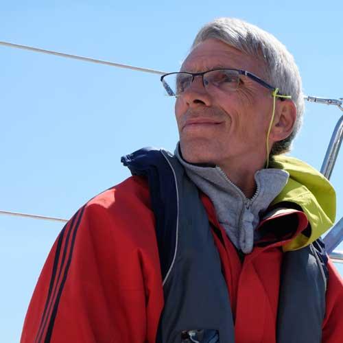 Skipper mit Urlaubstörn