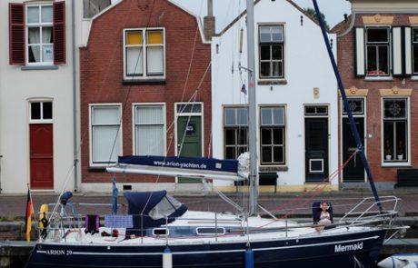 Segelurlaub Lilli Vorschiff